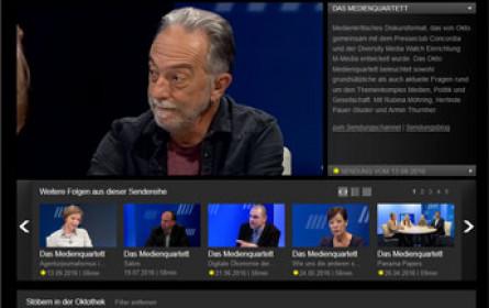 """""""Walther-Rode-Preis"""" 2016 von Medienhaus Wien an Günter Traxler und OKTO TV"""