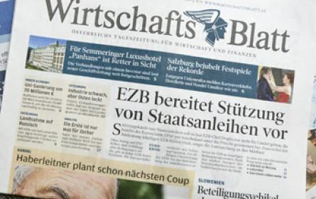 """""""WirtschaftsBlatt"""" wird mit 2. September eingestellt"""