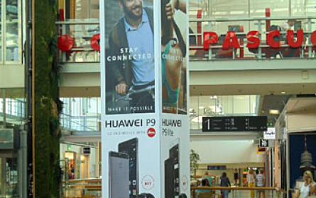 Maxus inszeniert das neue Huawei P9