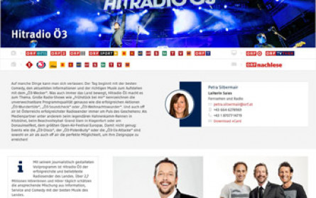 Die ORF-Enterprise präsentiert sich mit neuem Online-Auftritt