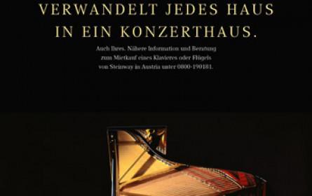 falknereiss beflügelt Steinway in Austria