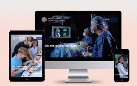 Fonda verpasst der Medizinischen Universität einen neuen Internetauftritt