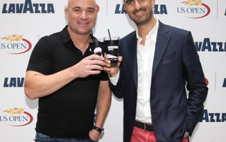 Andre Agassi ist neues Lavazza-Testimonial
