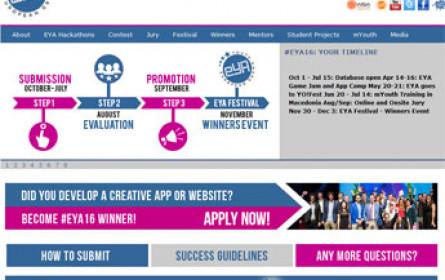 Die EYA Grand Jury wählt die besten interaktiven Projekte