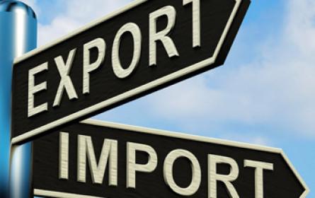 Exporte und Importe sind leicht gestiegen