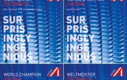 WeltMeister Österreich – das Jahrbuch zum Wirtschaftsstandort
