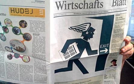 """Letzte Ausgabe """"WirtschaftsBlatt"""" - """"Auf Wiedersehen, werte Leser!"""""""
