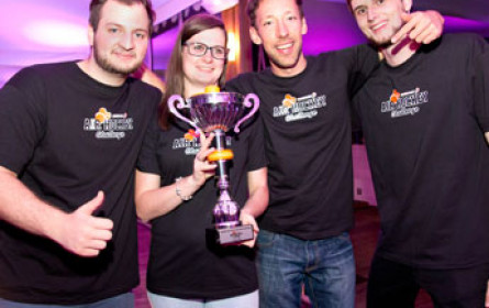 Österreich siegt bei Saxoprint Air Hockey Challenge-Finale in Cannes