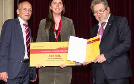 Monatsmagazin der VGN mit Wiener Gesundheitspreis ausgezeichnet