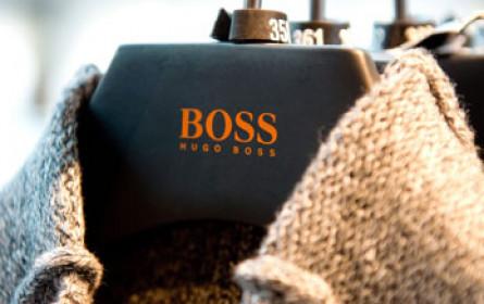 Hugo Boss mit schwachem Quartal