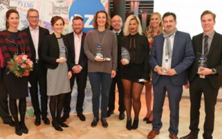 Erstmals fünf strahlende Sieger bei ÖZV-Gala