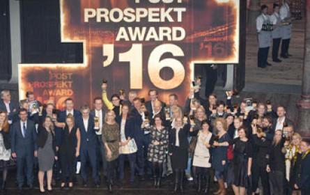 Sieger des 10. Post Prospekt Awards stehen fest