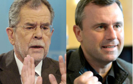 Großer TV-Wahlauftakt auf Puls 4: Duell Hofer/Van der Bellen mit Live-Umfrage