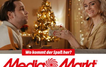 Auch der Weihnachts-Spaß kommt vom Media Markt