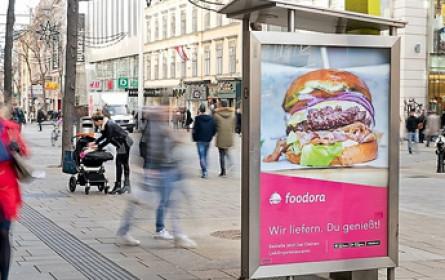 foodora setzt auf Epamedia