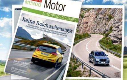 """""""Kurier"""" präsentiert mit """"Motor"""" die Autotrends 2017"""