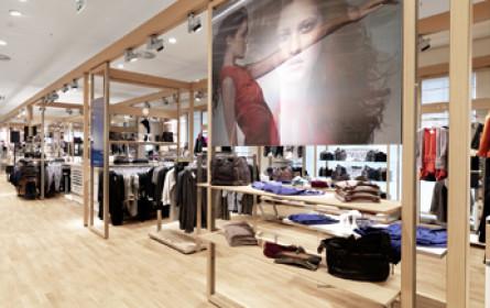 Modebranche mit Rückgängen