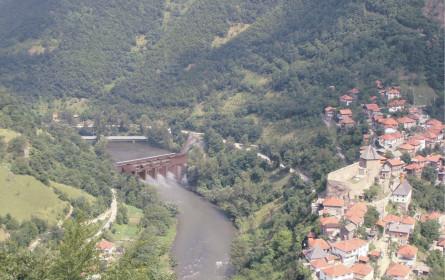 Kraftwerk an der Bosna