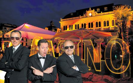 Werbe-Royal im Casino