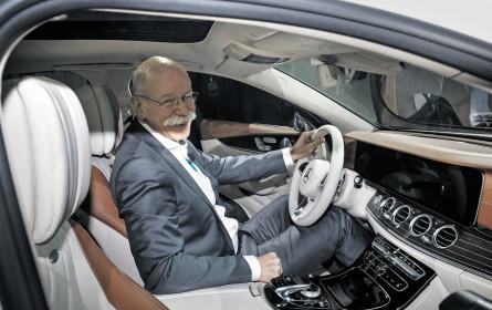 Daimler setzt zum Sprung an die Premium-Spitze an