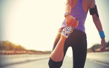 Durch Fitness fette Prozente in der Krankenversicherung