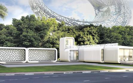 Bene für das erste 3D-Büro der Welt