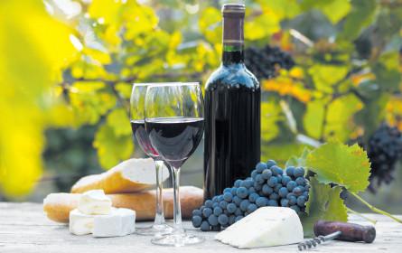 Internationaler Wein ist beliebt