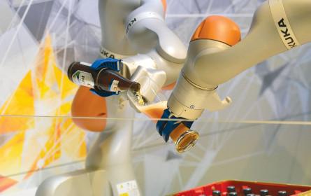 Die Roboter müssen ins Netz!