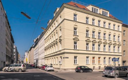 Zinshaus in neuem Glanz