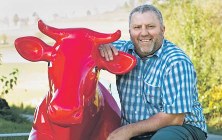 Ein trauriger Tag für Kuh und Bauer