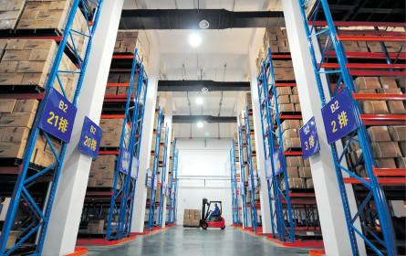 Rundgang durch die Logistikwelt
