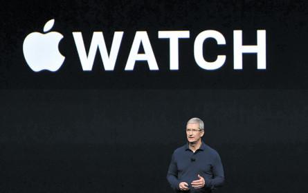 Apple & Co starten in den Gesundheitsmarkt