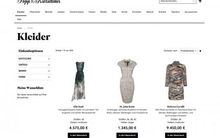 Digitales und analoges Luxusshopping