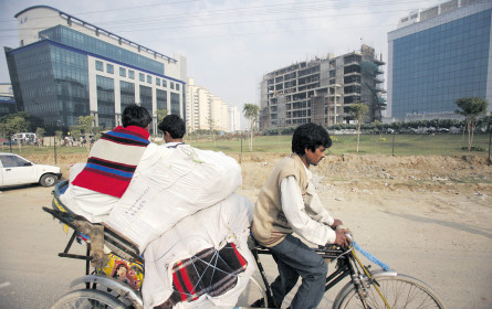 Indien bleibt vor China