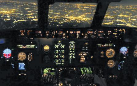 Mit der Marke ins Cockpit
