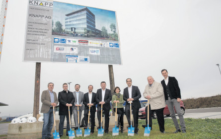 Knapp baut Büro mit Campus in Dobl