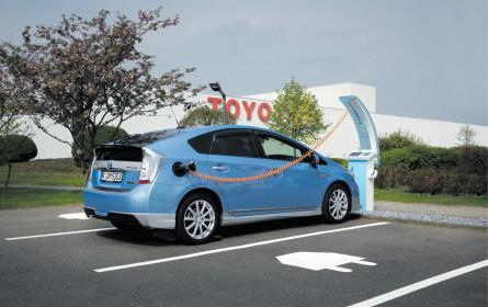 Toyota unter Strom
