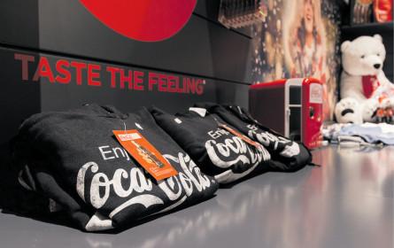 Coca-Cola poppt auf!