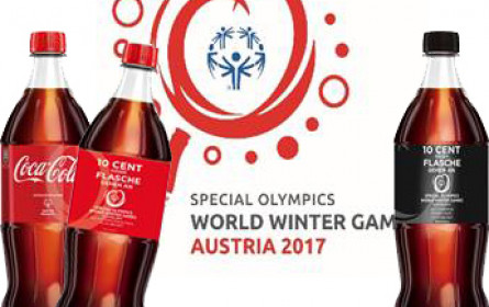 Coca-Cola widmet Special Olympics 2,3 Mio. Etiketten
