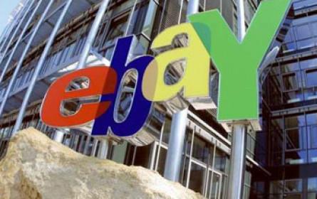 eBay erfreut Anleger mit starken Zahlen