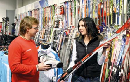 Sportindustrie hofft auf steigenden Ski-Absatz