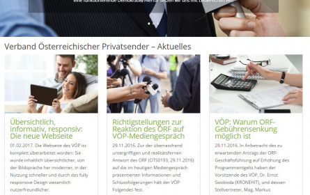 VÖP & Privatsenderpraxis mit neuer Website