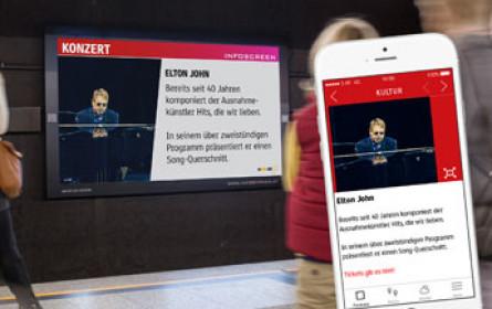 Infoscreen holt oeticket als Content-Partner an Bord