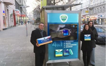 Wick VapoRub setzt auf digitale Screens und Citylights