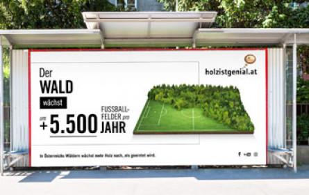 """Holz ist genial"" proHolz Austria mit neuer Kampagne on air."