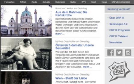 ORF III Kultur und Information präsentiert die Programmhöhepunkte des Jahres