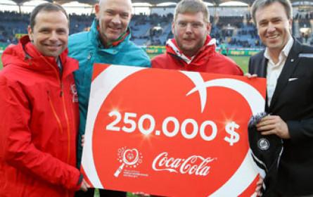 Coca-Cola spendet für Special Olympics