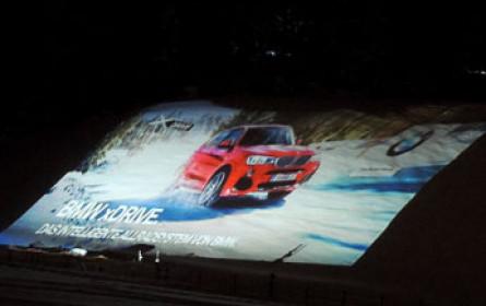 Projektion der besonderen Art in Klausen bei Kitzbühel