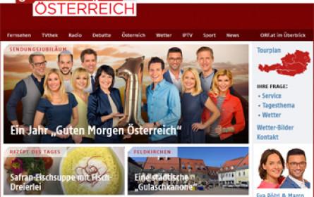 """ORF-Frühschiene """"Guten Morgen Österreich"""" wird ein Jahr alt"""
