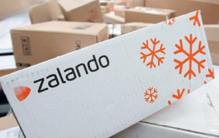 Zalando mit zweistelligem Umsatzplus